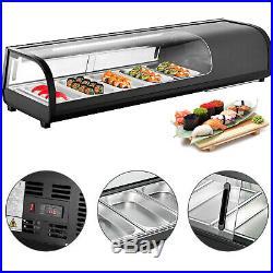 Sushi Showcase Countertop Sushi Cooler Display Case 0-12 Sushi Bar Showcase