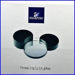 Swarovski 3 Piece Display Stand Mickey Mouse Showcase 835777