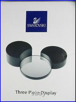 Swarovski Crystal Figurine DISNEY SHOWCASE THREE PIECE DISPLAY STAND 835777