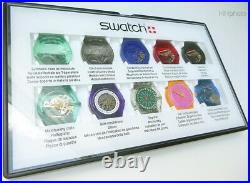 Swatch 10 Steps Production Showcase Absoluter Top-zustand / Rarität