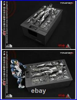 TOYS-BOX 1/6 Iron Man MK2 Version Armor UNLEASHED SHOWCASE 2.0 Display Set Model