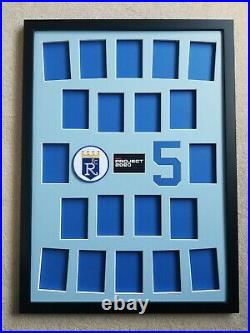 Topps Project 2020 George Brett Framed Display/showcase Your Set