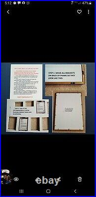 Topps Project 2020 Mariano Rivera Framed Display/ Showcase Your 20 Card Set