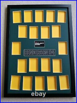 Topps Project 2020 Rickey Henderson Display Frame / Showcase Your 20 Card Set