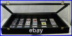 Trade Show Display case Black/P302B 24X36X4
