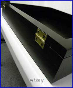 Trade Show Display case SMALL 18 X 22 BLACK