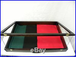 Trade show display case / table top card display case / Jewelry Show Case