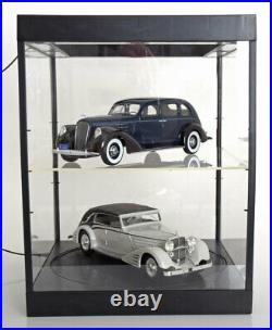 Triple 9 Display Show Case 2 Tier & Turntable 118 Scale Great 2x Car Displays