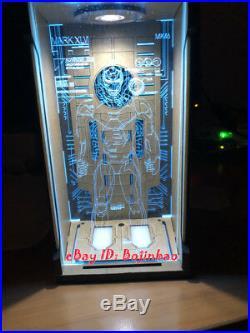 Tron Legacy MK4 Hangar LED Light 1/6 Scale Iron Man Display Box Show Case Model