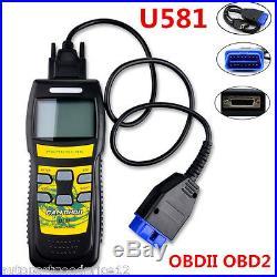 U581 OBD2 OBDII EOBD CAN BUS Car Code Reader Scanner Auto Diagnostic Scan Tool