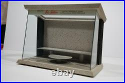 Vintage 1960's Store Display Shaving Case Showcase Counter Top General Store
