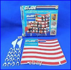 Vintage 1986 Collectors Showcase Action Figure Display GI Joe ARAH Hasbro withBox