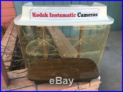 Vintage Kodak Instamatic Camera Advertising Store Display Showcase REPAIR