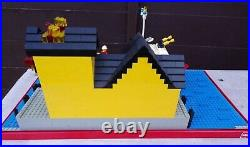 Vintage Lego Shop Advertising Showcase Display 4020 Fire Fighting Boat Building