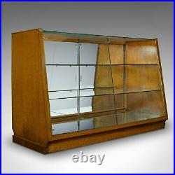Vintage Retail Display Cabinet, Haberdashery, Shop, Showcase, Art Deco, C. 1930