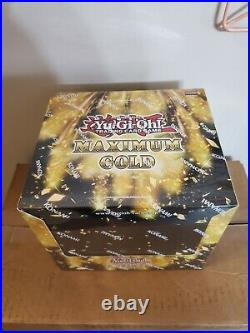 Yu-Gi-Oh! Maximum Gold Display Box (5 boxes) 1st Edition Sealed yugioh tcg